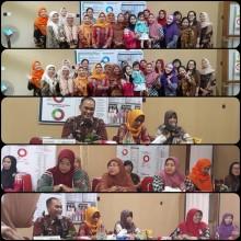 Pertemuan Rutin Dharma Wanita Persatuan (DWP) Bagian Organisasi