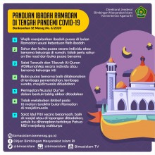 Panduan Ibadah Ramadhan Di Tengah Pandemi Covid-19