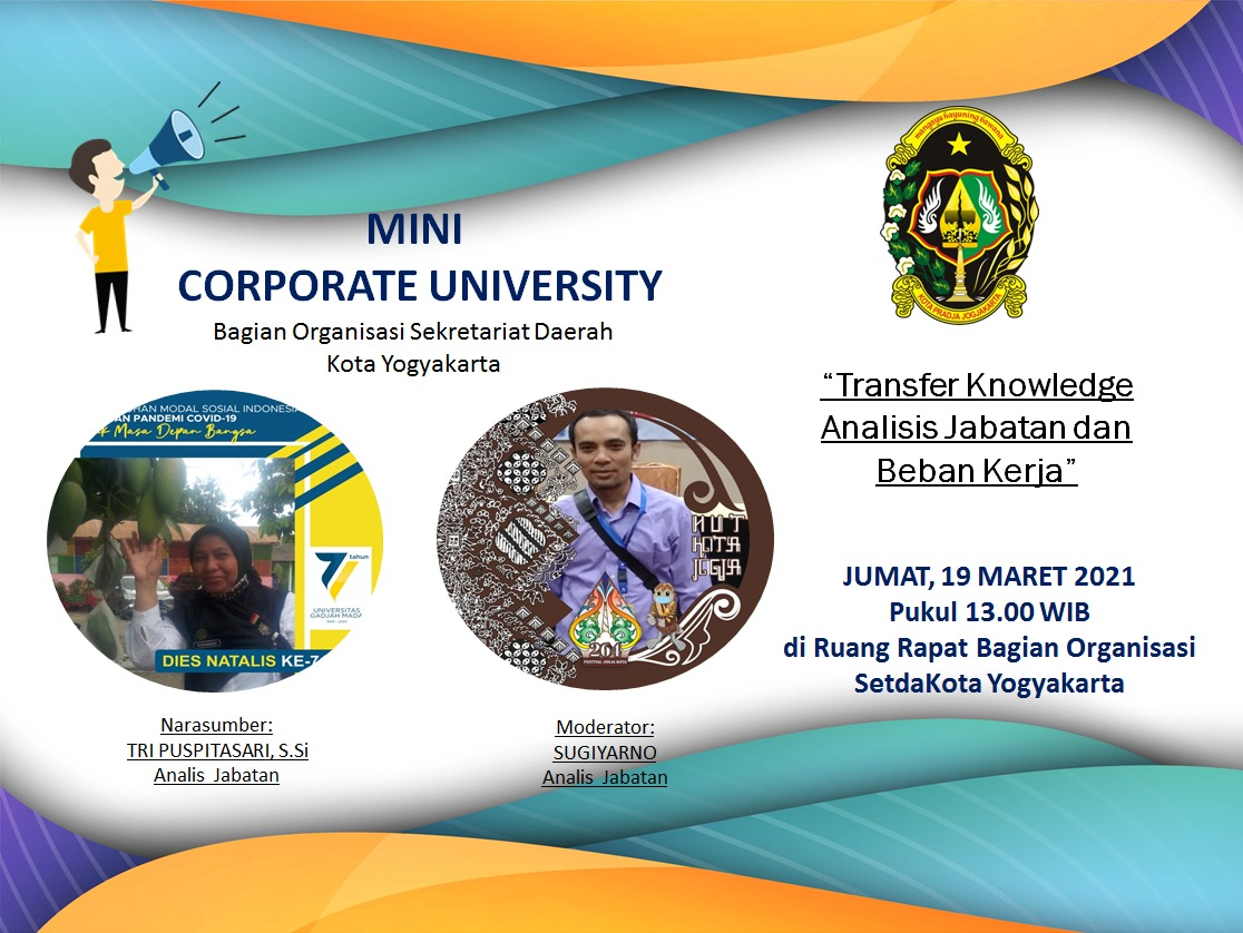 Mini Corpu Bagian Organisasi, Sebuah Inovasi Pengembangan Kompetensi Pegawai