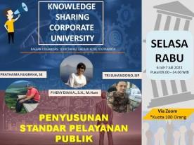 Knowledge Sharing - Penyusunan Standar Pelayanan Publik