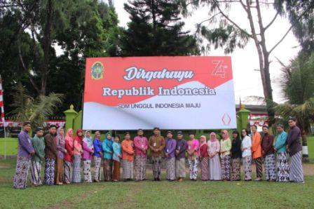 Dirgahayu Republik Indonesia ke 74 th