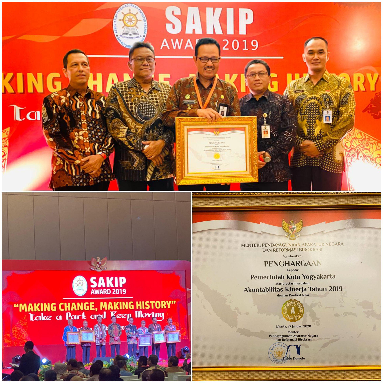 Penghargaan SAKIP Pemerintah Kota Yogyakarta